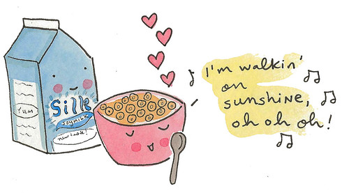Your Cereal could sing!
