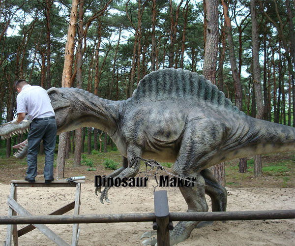 We manufacturing animatronicdinosaur model