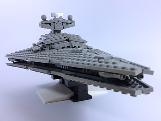 It's an Imperial Star Destroyer