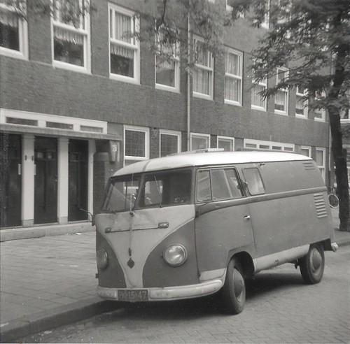 PK-15-47 Volkswagen Transporter bestelwagen 1953