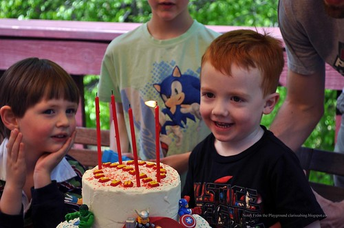Casper's 4th Birthday Party