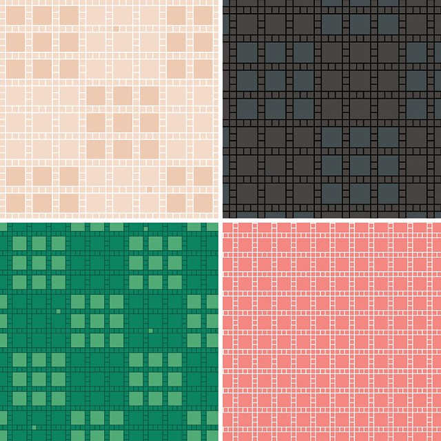 Downloadable pattern backgrounds: more color variations