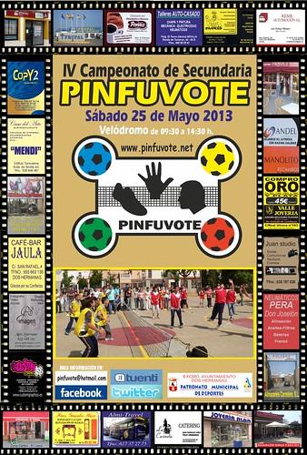Cartel Campeonato de Pinfuvote de Secundaria