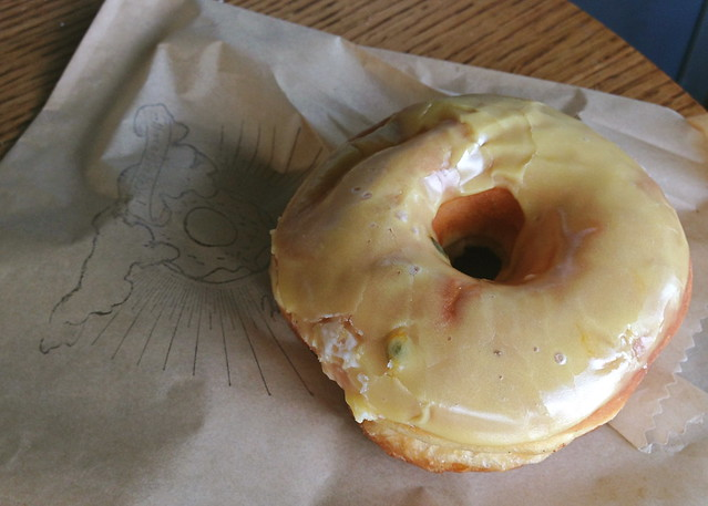 Passion Fruit Doughnut at Sidecar Doughnuts and Coffee (Costa Mesa, CA)