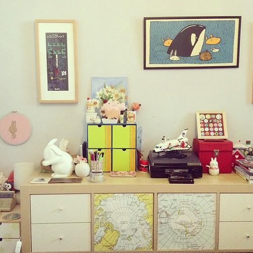 Definitely my favourite bit of my room now.