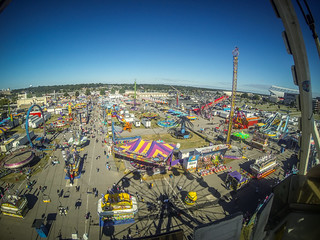 State Fair from the Air