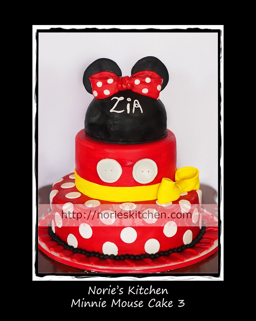 Mickey Mouse Nories Kitchen Custom Cakes