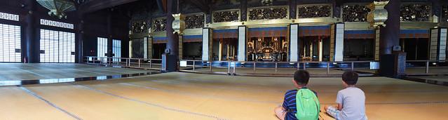 西本願寺-阿彌陀堂的室內