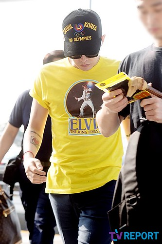 Big Bang - Incheon Airport - 07aug2015 - TV Report - 06