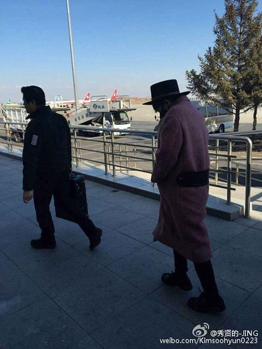 Big Bang - Harbin Airport - 21mar2015 - Kimsoohyun0223 - 05