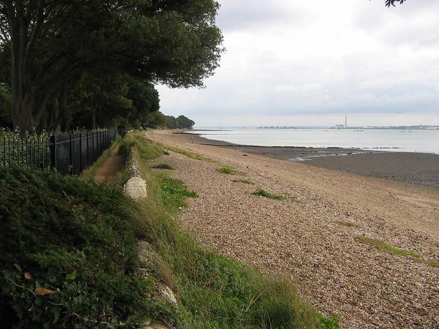The coast at Netley