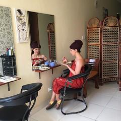 Hanya di Dewayu Bali, bisa creambath sambil menikmati Lumpia Semarang. Sukses selalu ya, @tanvenme 👍