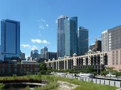 Chicago, Ogden Slip Looking West