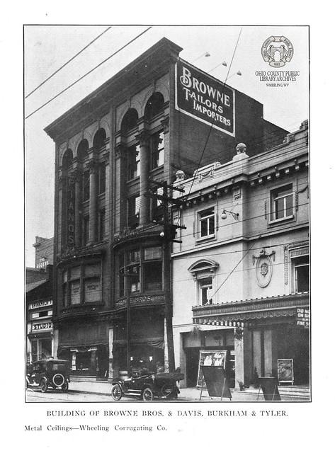 Building of Browne Bros. & Davis, Burkham & Tyler, 1915