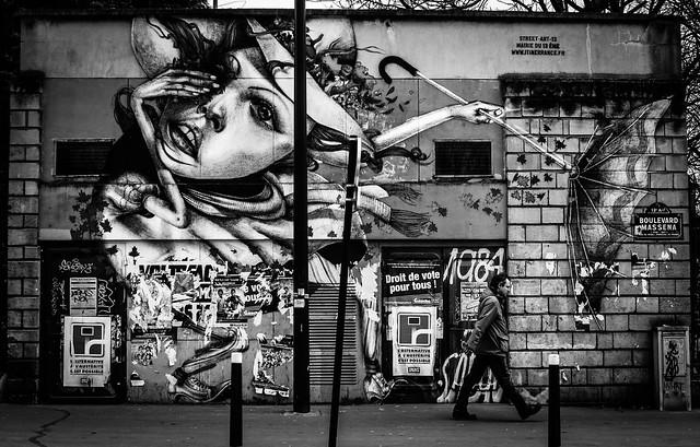Street Scene and Street Art
