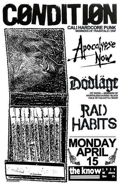 4/15/13 Condition/ApocalypseNow/RadHabits/Dodlage