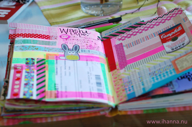 Evidence page: Washi tape from Copenhagen