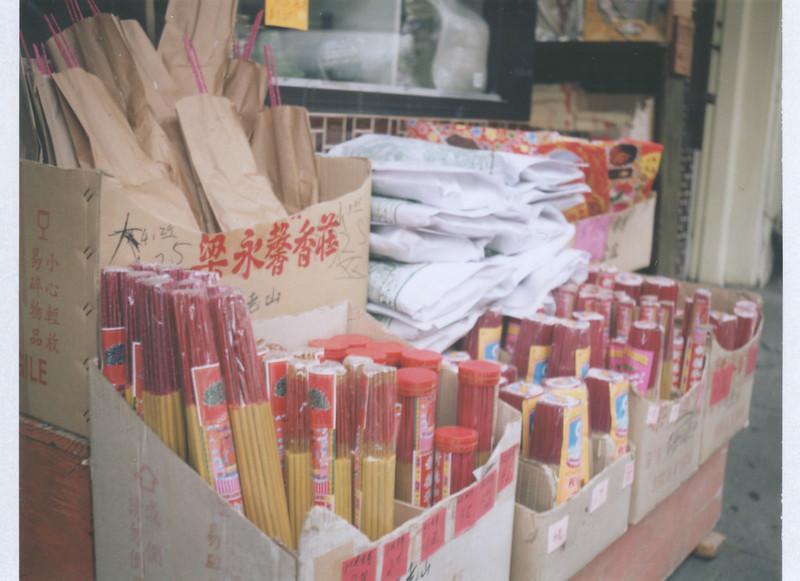 incense | Polaroid 103 | Fuji FP-100c | Vanessa Simpson