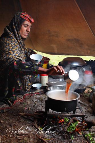 Tea time. by Nadeem Khawar.