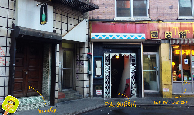 PULQUERIA apotheke, nom wah dim sum, doyer street