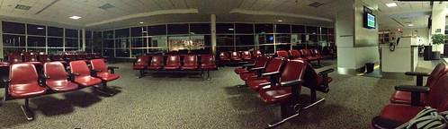 You know you are early for your flight when...