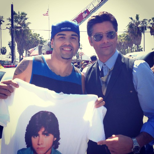 Nick Romero and John Stamos