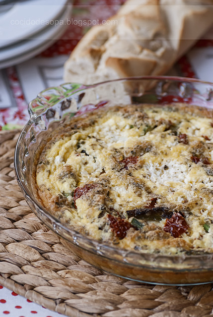 Fritatta esparragos_tomates secos_ricotta_1