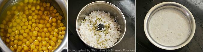 How to make chana masala - Step1