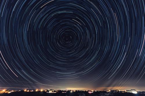 Star Trail over Narragansett Redo by Royston_Kane via I {heart} Rhody