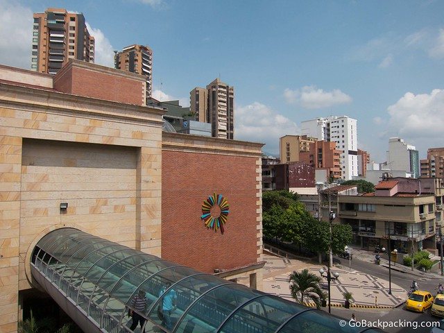 View of Bucaramanga from a shopping center