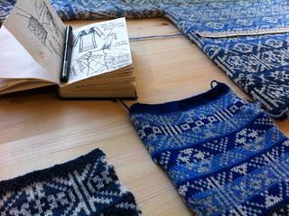 Fair Isle Knitwear by Mati Ventrillon