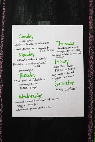 This week for supper...