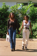 Happy Valley Ezulwini Swaziland Lucy and Sister from Mozambique March 28 1999 025