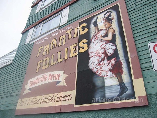 Frantic Follies, a seasonal show at the Westmark Whitehorse Hotel