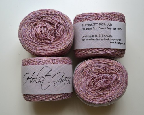 Holst garn / supersoft 100% uld