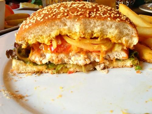 Haidhauser Burger - Querschnitt
