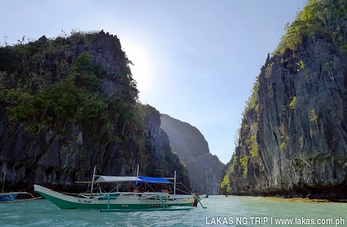 Entrance to the Big Lagoon in El Nido, Palawan