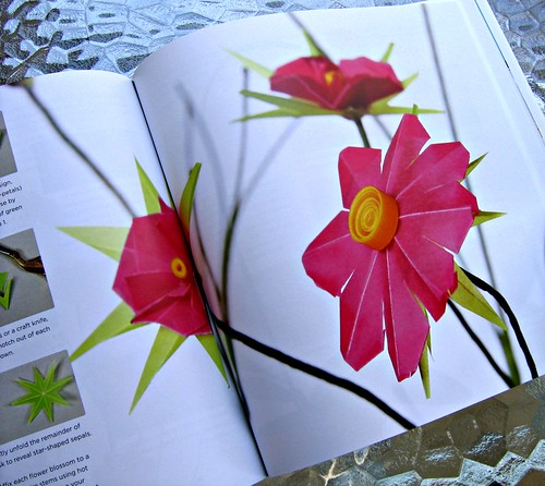 cosmos paper flower tutorial