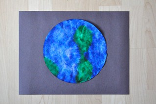Earth Coffee Filter Craft