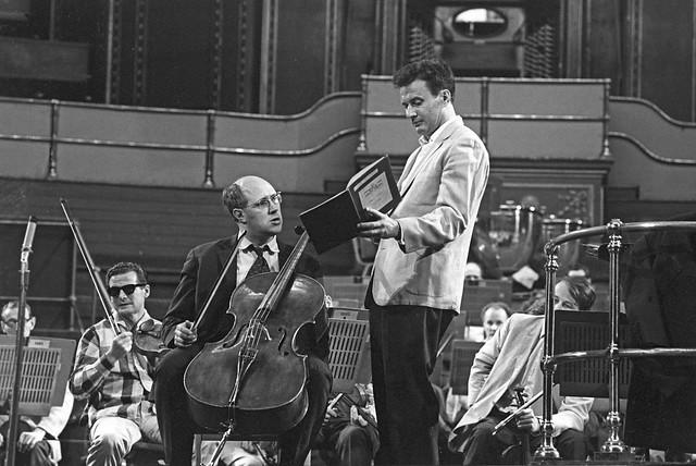 Colin Davis Mstislav Rostropovich Proms 1964 Brahms Cello Concerto