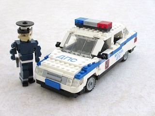 Moscow traffic police Lada 110 (1)
