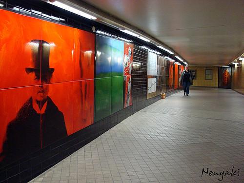 Stockholm Rådmansgatan Tunnelbana station (by: Nenyaki, creative commons)