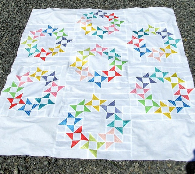 Quilt Made by Linda at Sunflower Girls Quilt