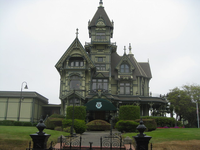 Carson Mansion in Eureka, CA  Flickr  Photo Sharing!