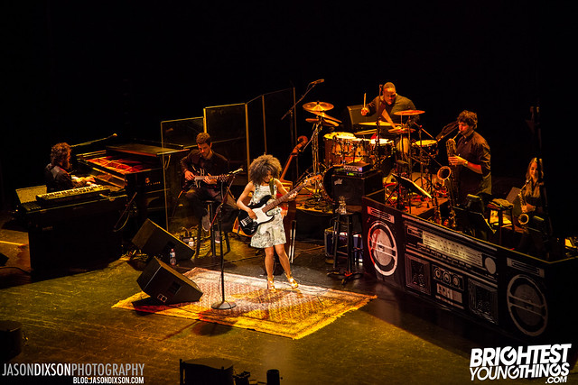 Esperanza Spalding @ the Warner Theatre on 4/22/2013. Photo by Jason Dixson Photography.