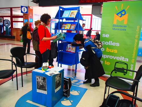 As Bibliotecas agasallan todos os anos libros nas Estacións de autobuses e tren.