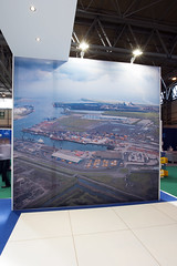 PD Ports Multimodal Exhibition Stand in action