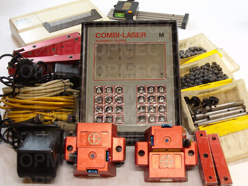 Sistema de Alinhamentos Fixtur-Laser modelo COMBI-LASER - M