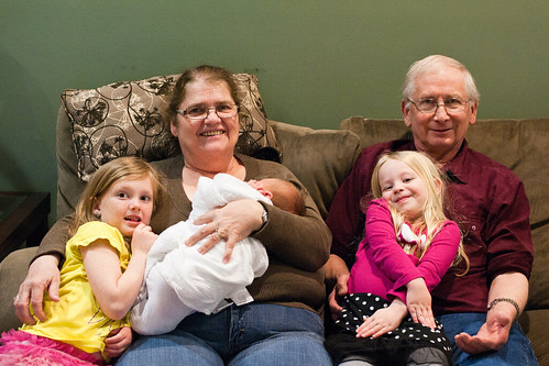 011 Grandma & Grandpa Hietala Abby Mckenzie and Cooper