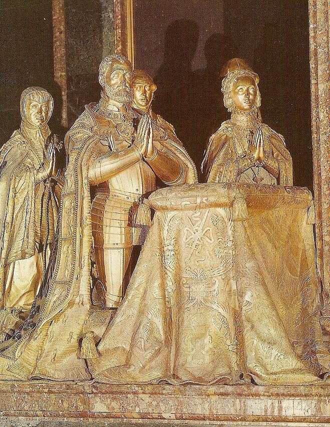 Cenotafio de Carlos I de España e Isabel de Portugal. Monasterio de San Lorenzo el Real del Escorial. Autor, Lancastermerrin88